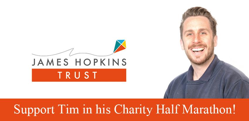 Support Tim in his Charity Half Marathon!
