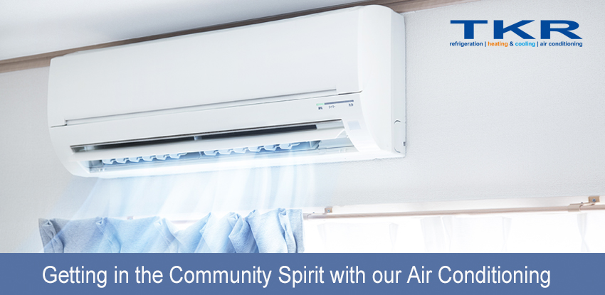 Getting in the Community Spirit with our Air Conditioning