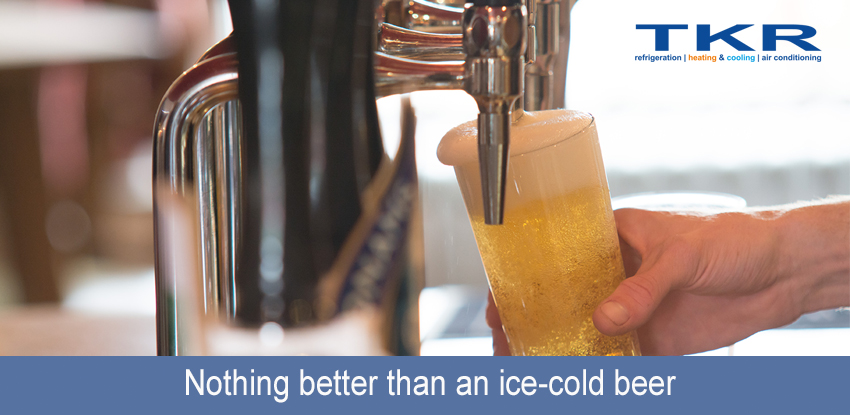 Nothing better than an ice-cold beer
